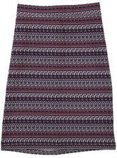 WOMENS PULL ON PRINT SKIRT