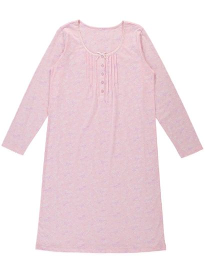 Cotton Pinctuck Nightie Womens Sleep