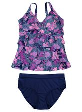 Womens Plus Tankini Set