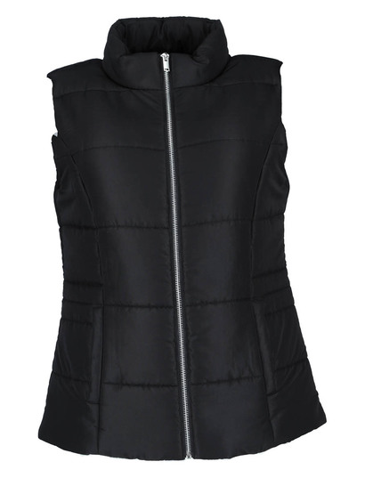 Zip Through Puffa Gilet Womens