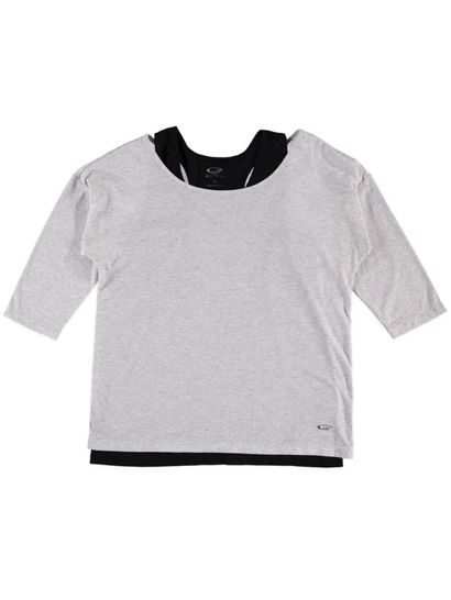 Plus Elite 2-In-1 Batwing Tee Womens