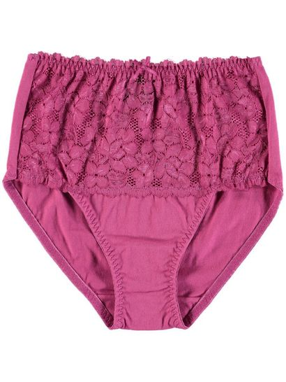 Full Brief Lace Front Brief Womens