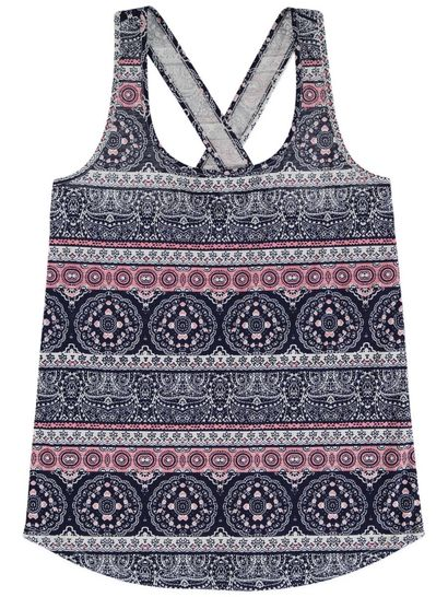Allover Print Tank Womens