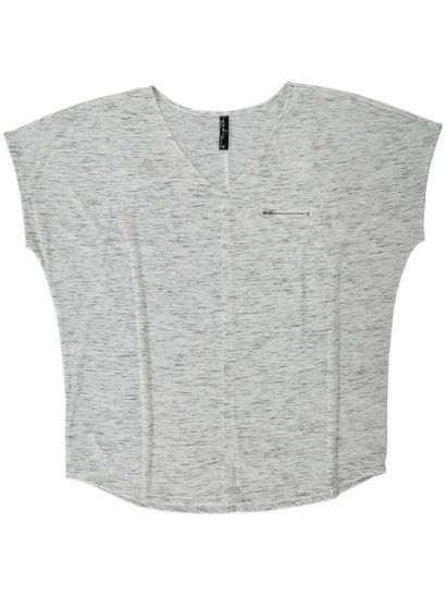 Plus Ext Slv Spdy Zp Tee Womens