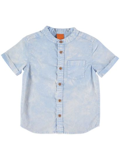 Boys Ss Denim Shirt