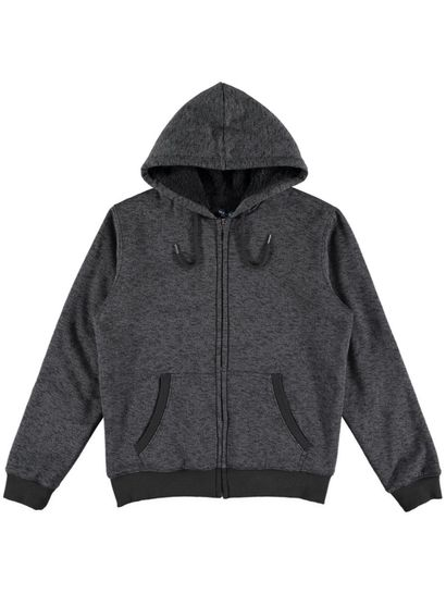 Mens Sherpa Fleece Jacket