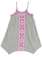 GIRLS PRINT WOVEN DRESS