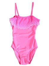 GIRLS PLAIN SWIMSUIT