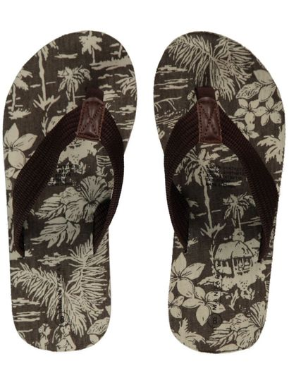Mens Palm Print Thong