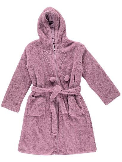 Hooded Gown Womens Sleepwear