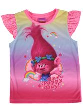 Toddler Girls Trolls Top
