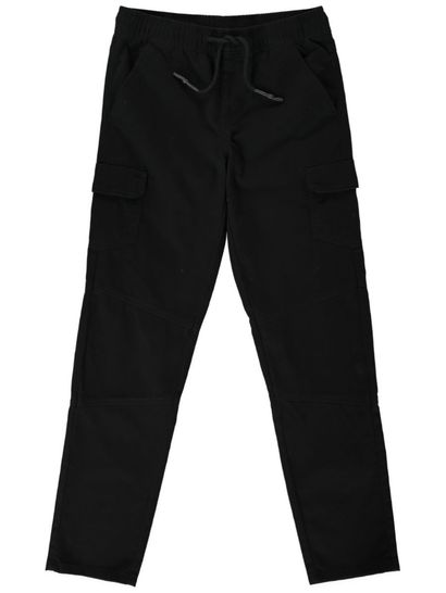Boys Solid Cargo Pants