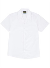 BY SHIRT S/S LAY BACK WHITE 5