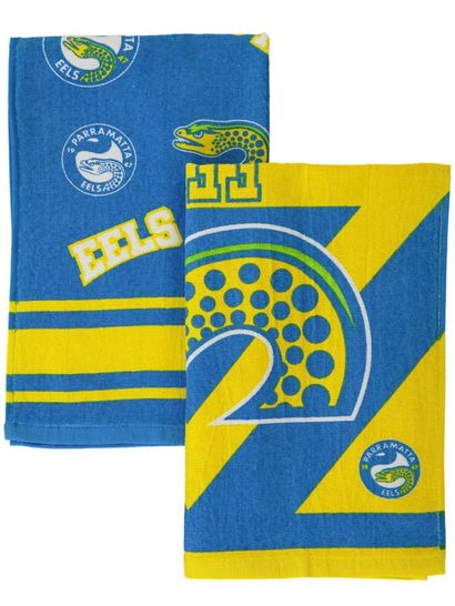2Pk Eels Velour Tea Towel