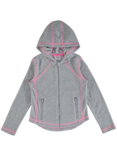Girls Polar Fleece Zip Hoody
