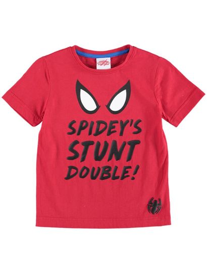 Boys Ss Spiderman Tee