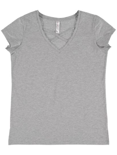 Sleep Tee With Neck Detail