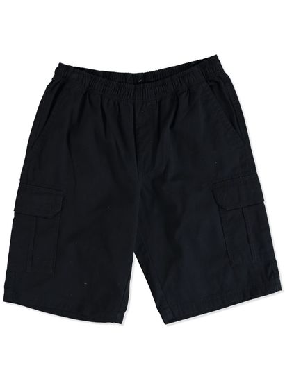 MENS ELASTICATED WAIST CARGO SHORT