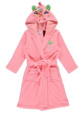 Toddler Girls Coral Fleece Unicorn Gown