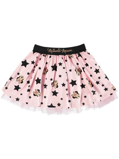 Toddler Girls Minnie Tulle Skirt With Glitter