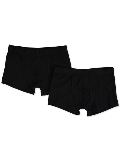 BOYS 4-14 2PK PLAIN TRUNK