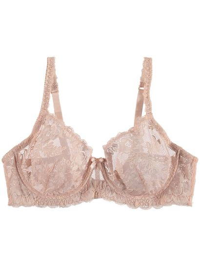 Lace Non Padded Underwire Bra