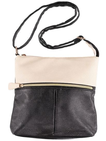 Womens 2 Toned Cross Body Bag