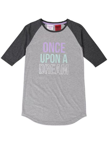 Girls Raglan Nightie