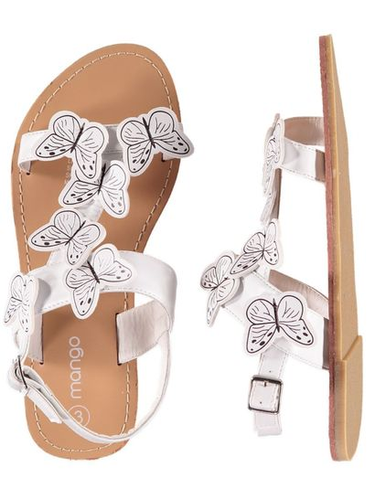 Girls Butterfly Sandal