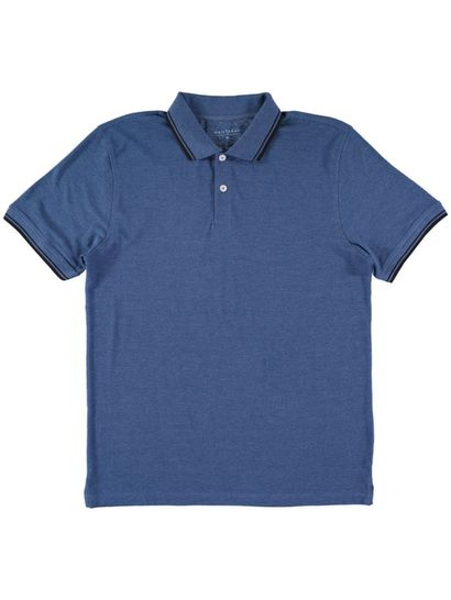 Mens Short Sleeve Polo With Tipping