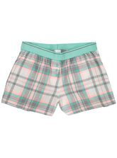 WOVEN COTTON SHORT WITH SOFT ELASTICATED WAISTBAND