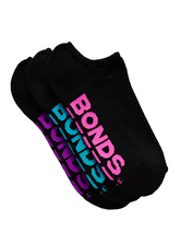 BONDS 3PK LOGO SPORT NO SHOW WOMENS