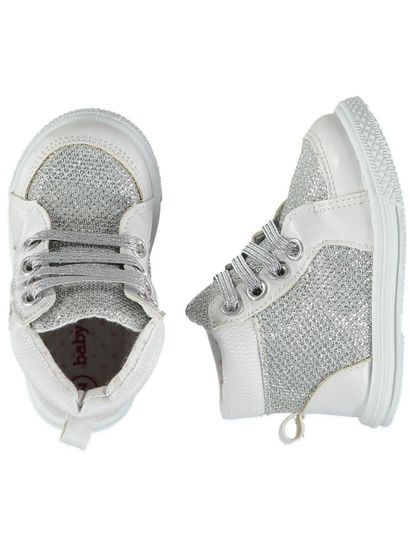 Baby Girl Glitter High Top