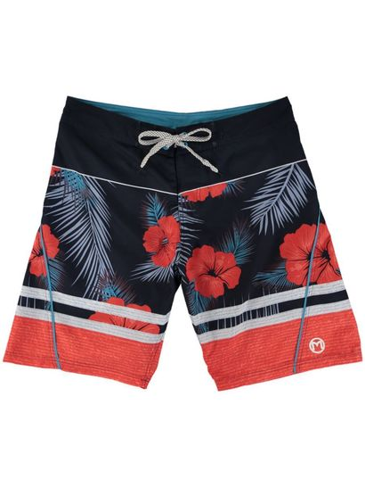 MENS FIXED WAISTBAND PRINT BOARDSHORT