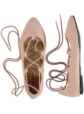 LADIES LACE-UP BALLET