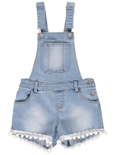 Girls Denim Shortall