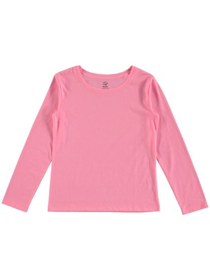 GIRLS ORGANIC COTTON LONG SLEEVE TEE