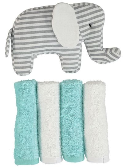 Baby Facewasher & Toy Set