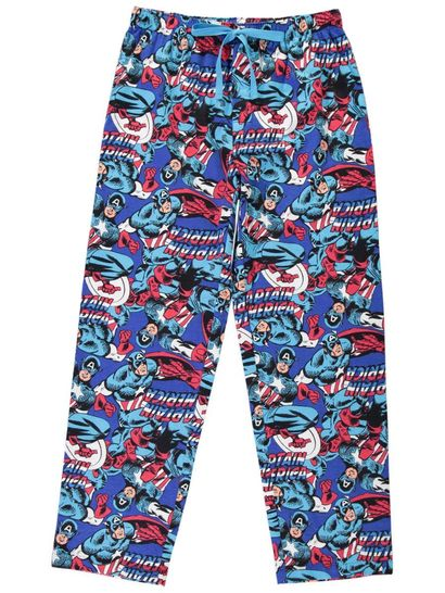 Mens Captain America Lounge Pant
