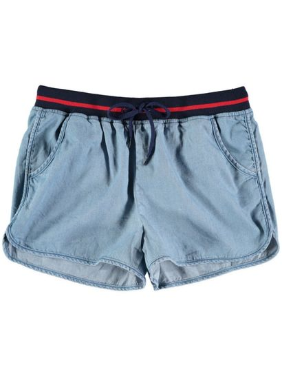 Girls Sporty Chambray Short