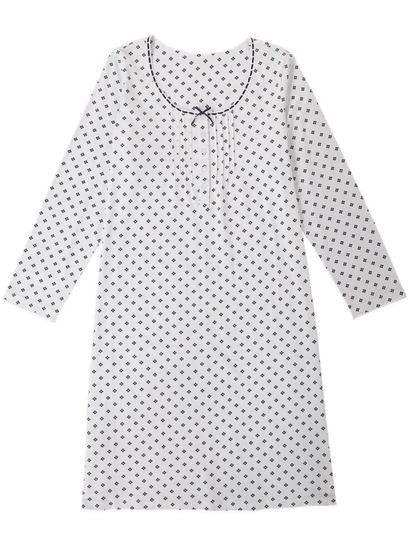 Traditional Pintuck Nightie Womens Sleepwear