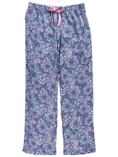 Viscose Pant Womens Plus Sleepwear