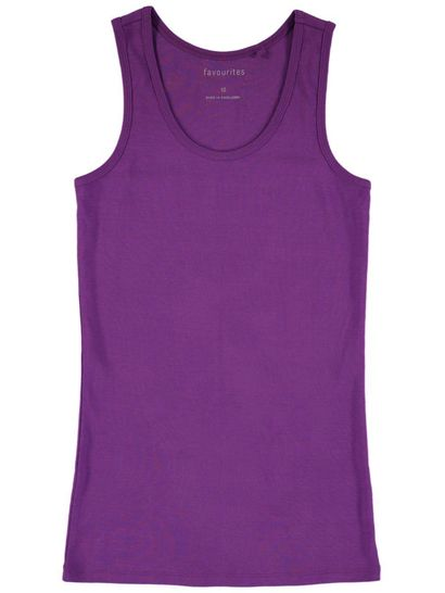 Plus Favourites Rib Tank Womens