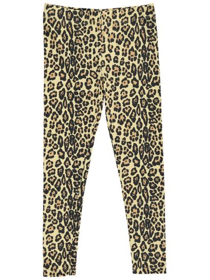 Girls Full Length Print Leggings