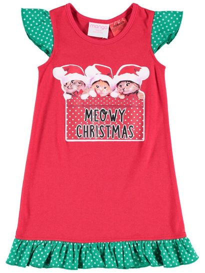 Girls Christmas Nightie