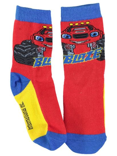 Boys Licence Socks - Blaze & The Monster Machines