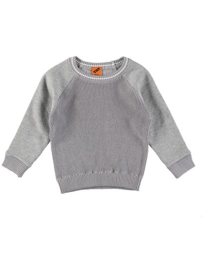 Boys Fleece And Knit Jumper