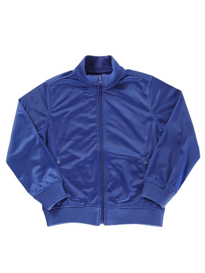 ROYAL BLUE KIDS TRICOT JACKET
