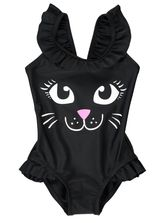 TODDLER GIRL CAT SWIMSUIT