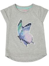 TODDLER GIRLS BUTTERFLY FLIP SEQUINS TOP